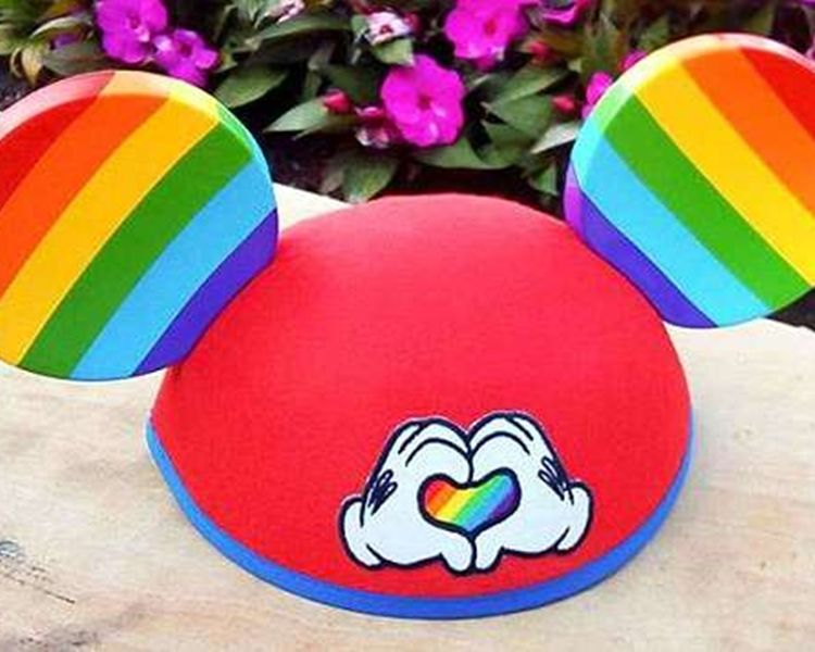 【同志平權】迪士尼推米奇老鼠彩虹帽