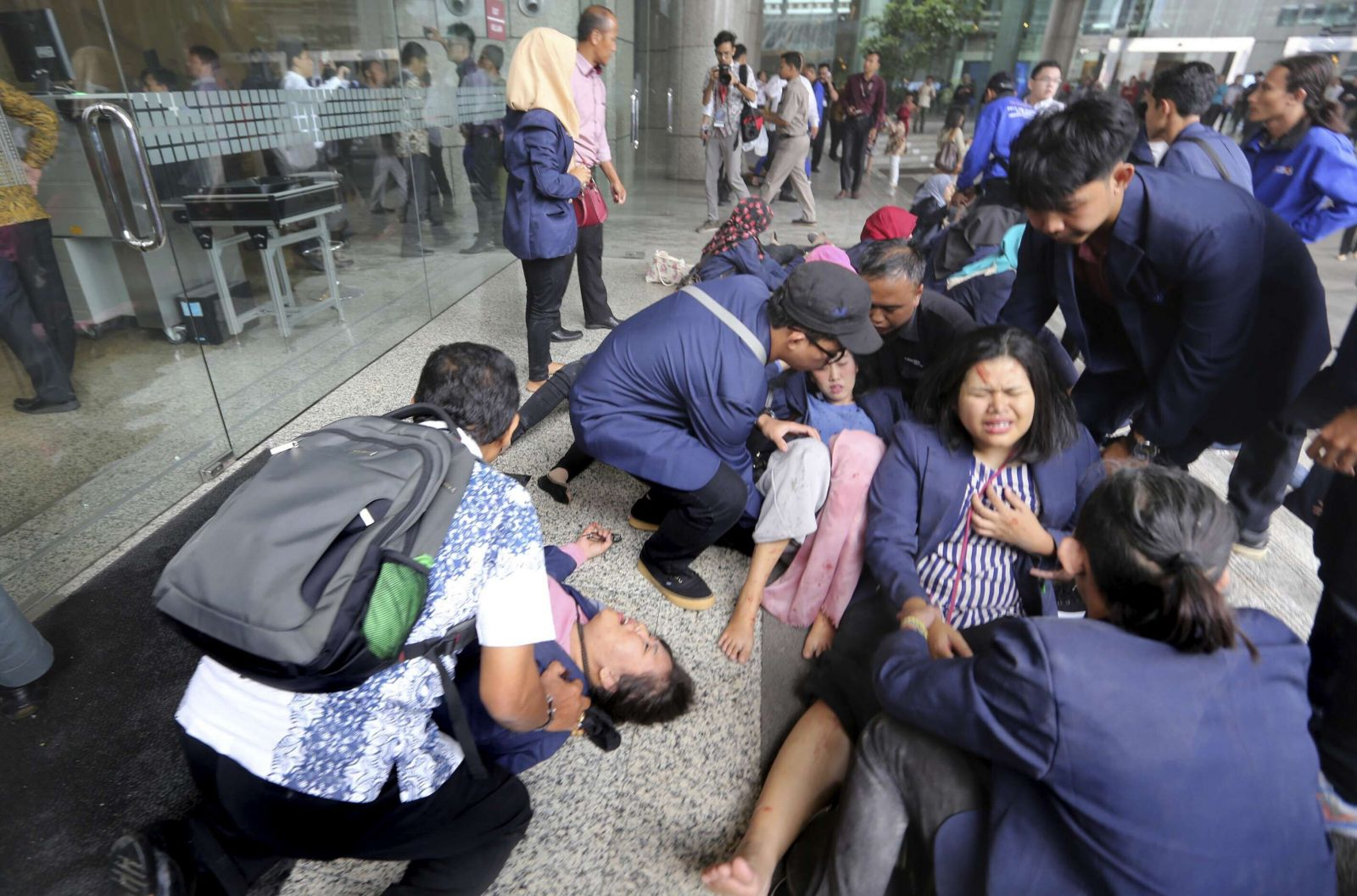傷者多為參觀學生