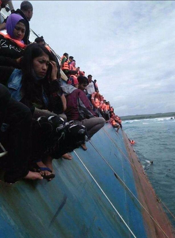 印尼載逾百人渡輪沉沒