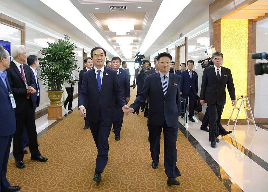 【體育外交】韓朝籃球友誼賽平壤開波