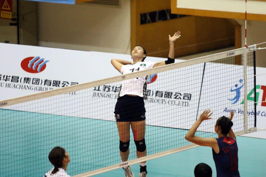 澳門女排不敵中華台北