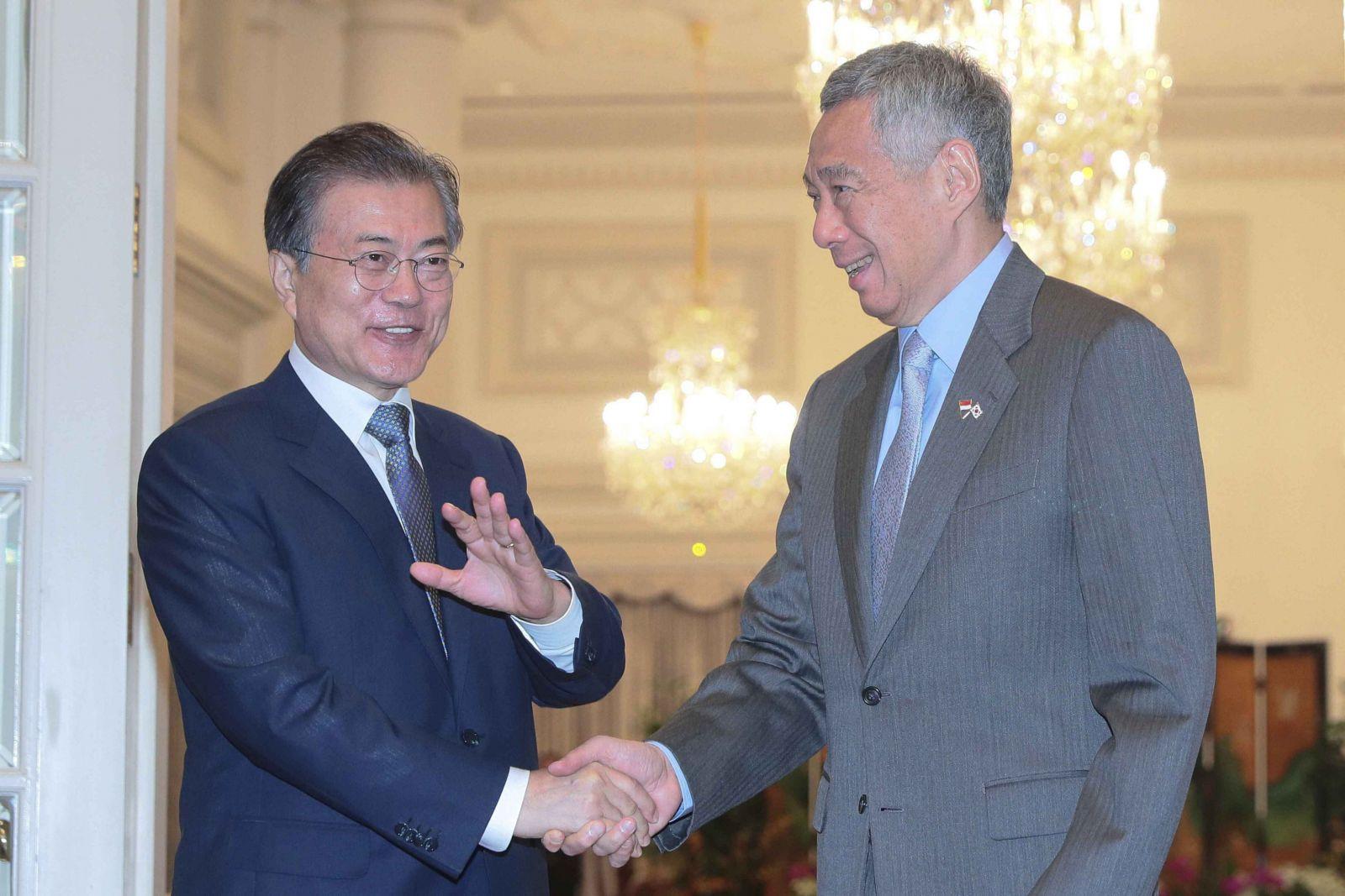 文在寅:朝鮮批美或是談判策略