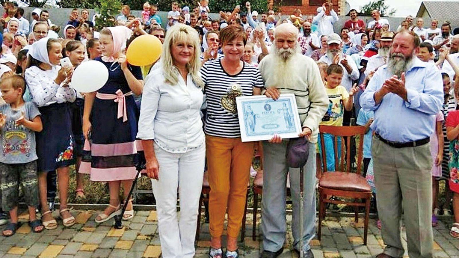 烏克蘭男子擁346子孫