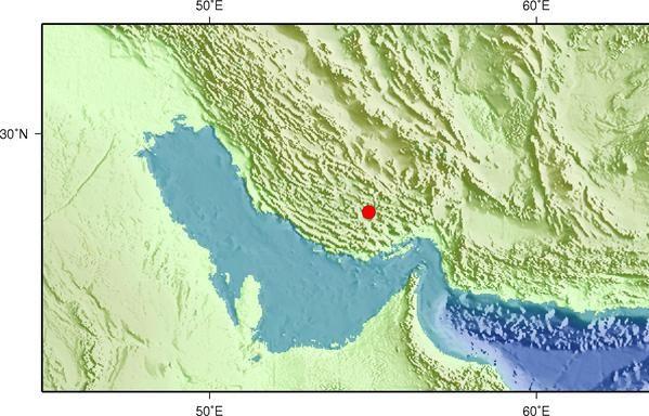 伊朗發生5.4級地震