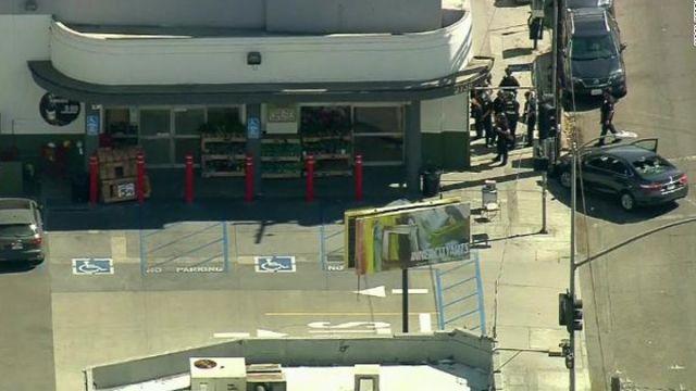 洛杉磯有槍手闖超市懷疑挾持人質