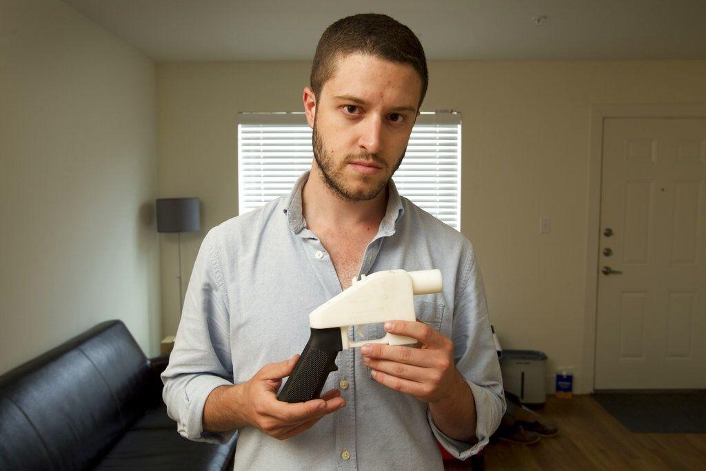 禁在網上發布3D槍械打印圖紙
