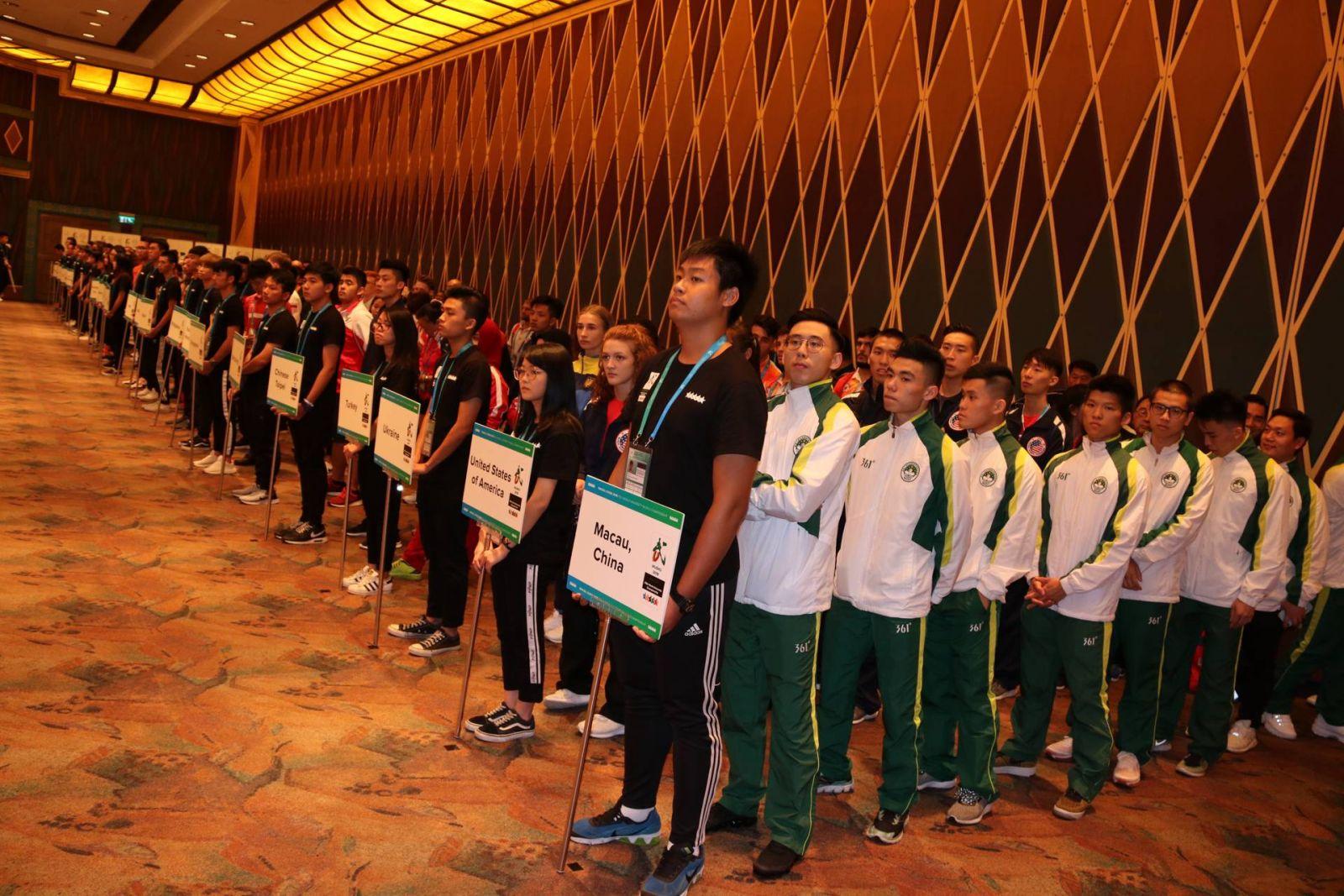 25個國家地區運動員參賽