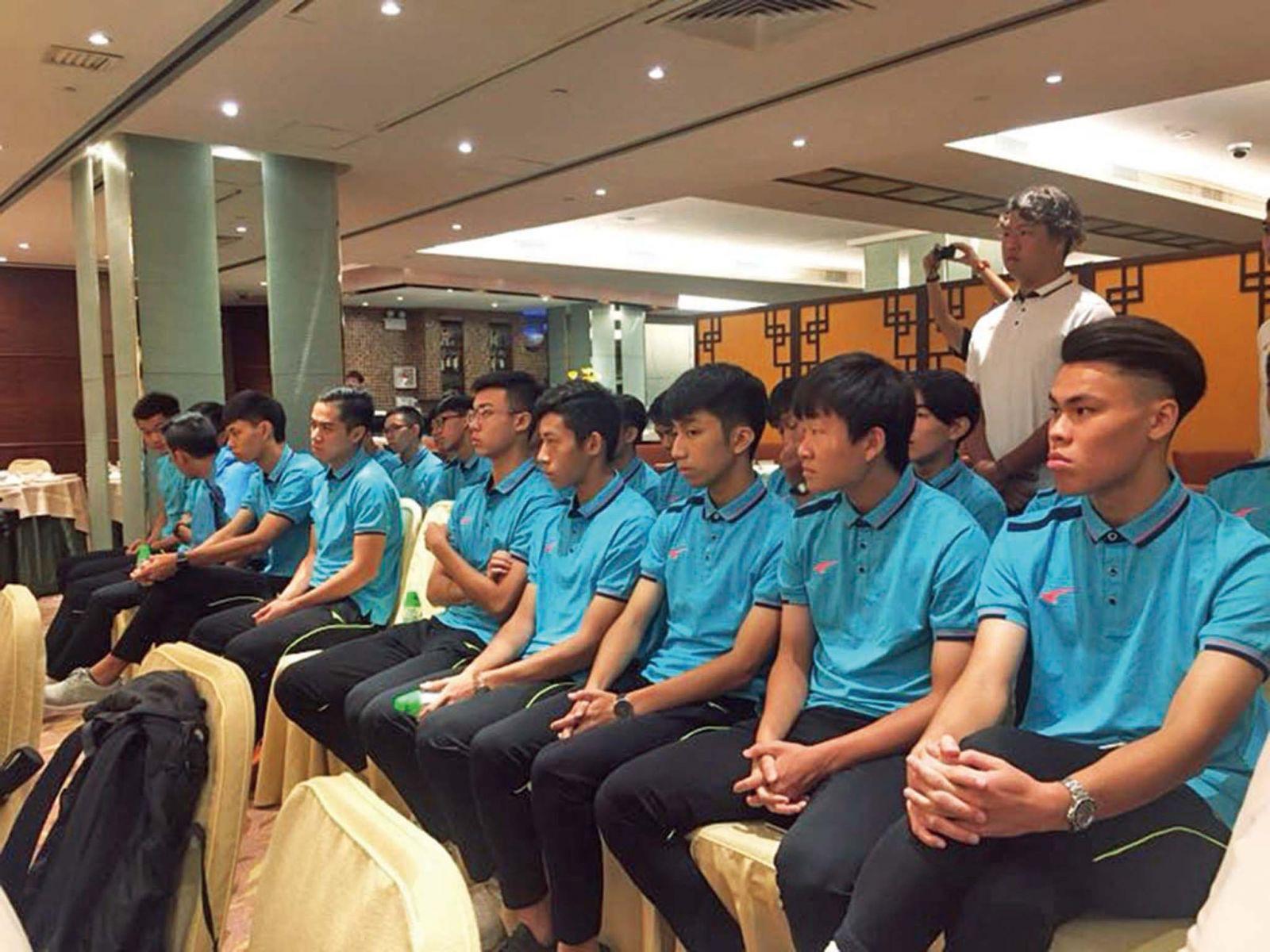 澳門發展隊參加中冠聯賽