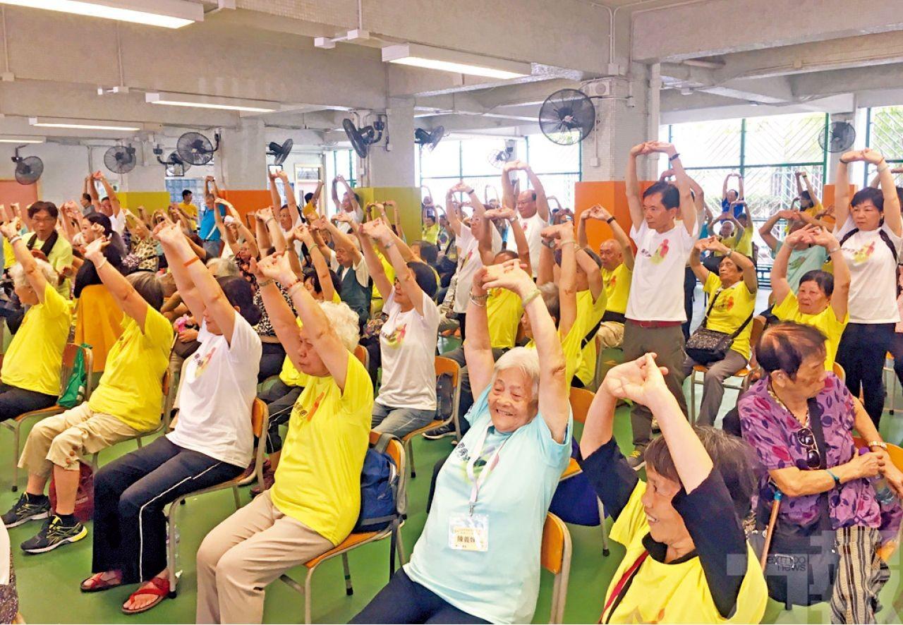 全澳長者運動日將下月9號舉行
