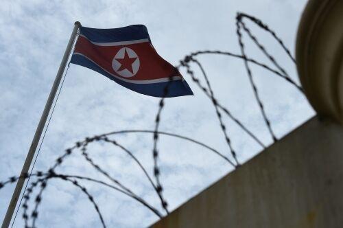 日本男子在朝鮮被捕