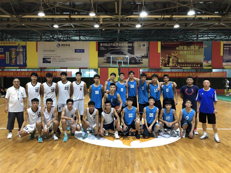 學界籃球隊海南集訓