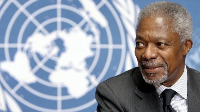 聯合國前秘書長安南逝世終年80歲