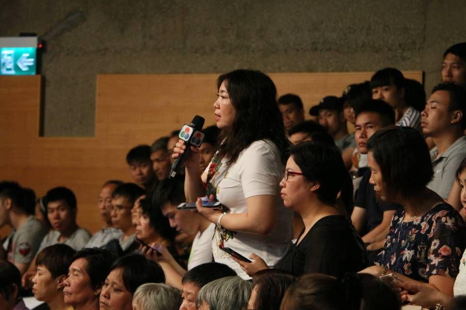 現場觀眾:居民性命不值錢?