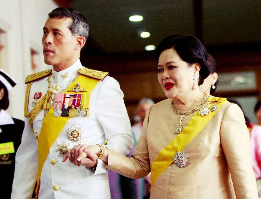 泰國王太后高燒入院 確診流感