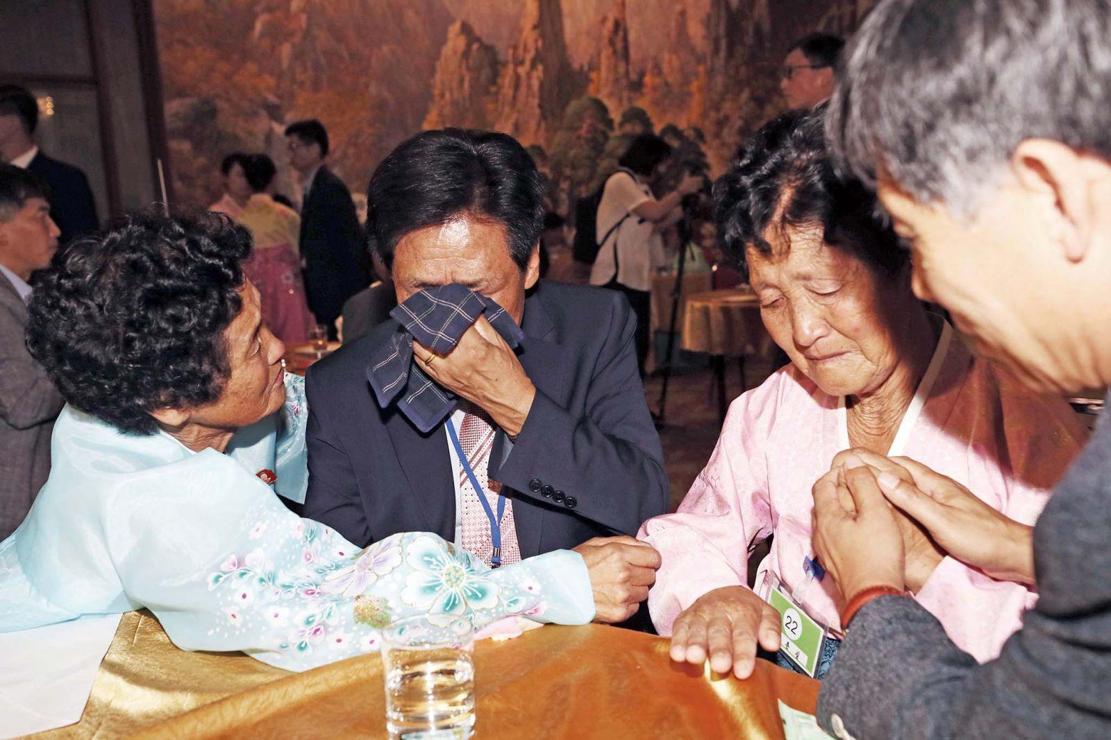 韓朝家庭:有生之年再見