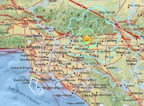 【震感明顯】美洛杉磯4.4級地震
