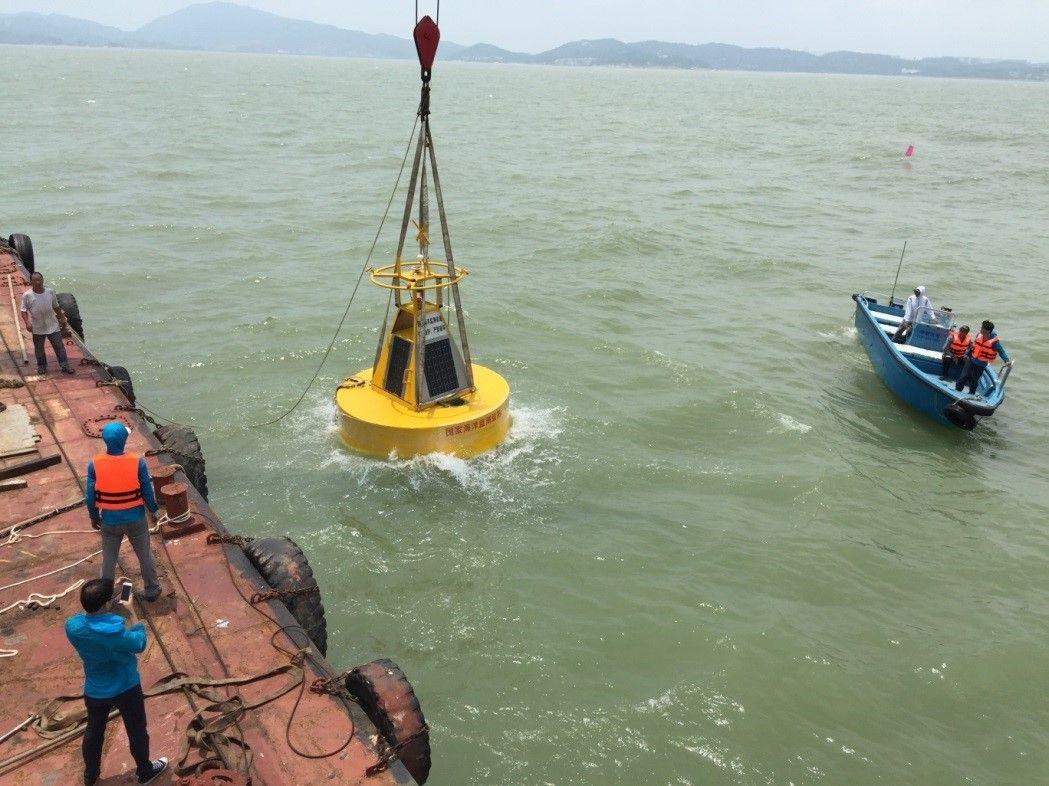 增設五海洋浮標站監測水文