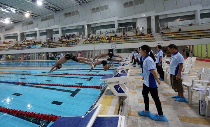 游泳錦標賽10月再臨