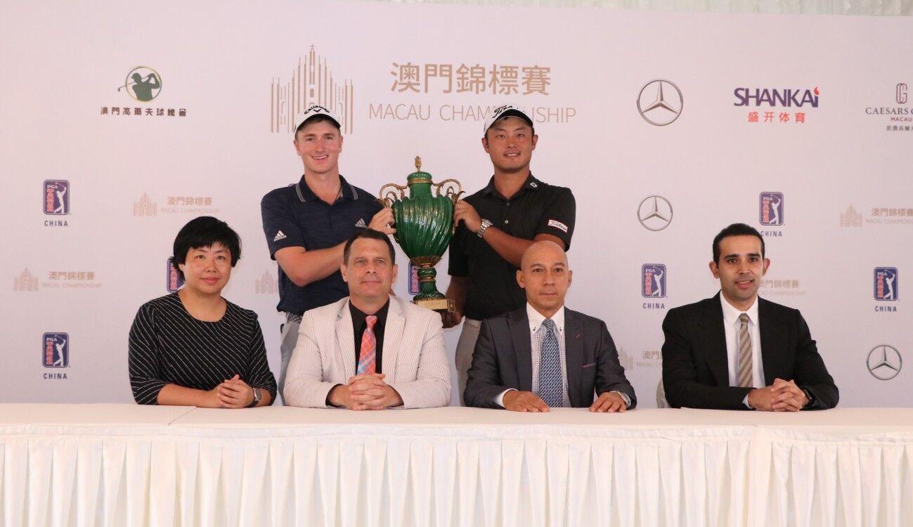 2018美巡賽-中國澳錦賽明開杆