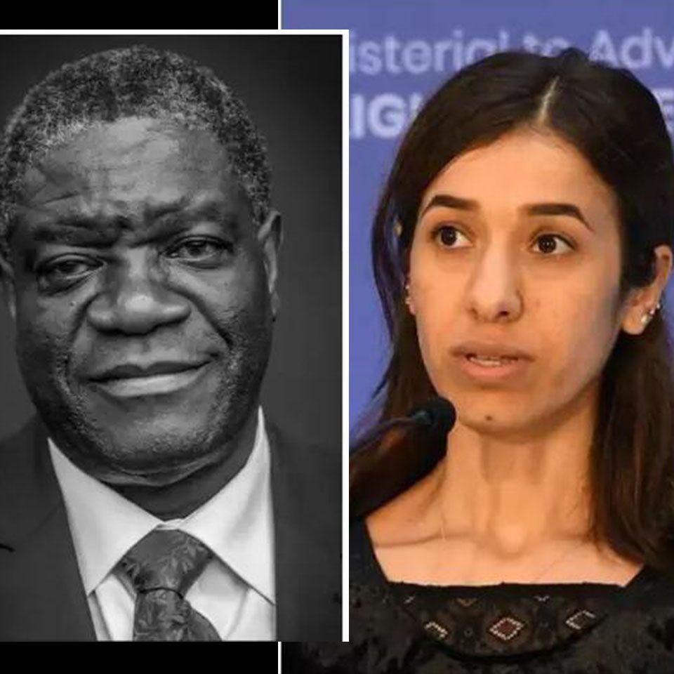 【諾貝爾和平獎】剛果醫生及性侵受害女性獲獎