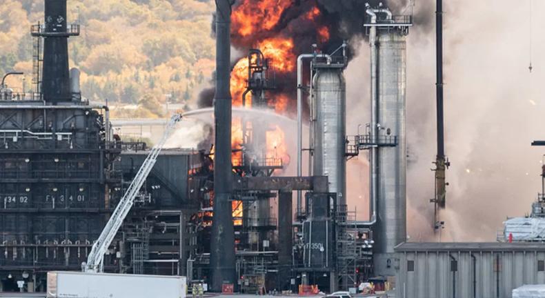 加拿大最大煉油廠發生爆炸