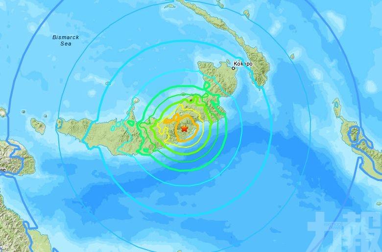 巴布亞新畿內亞7級地震 當局發海嘯警報