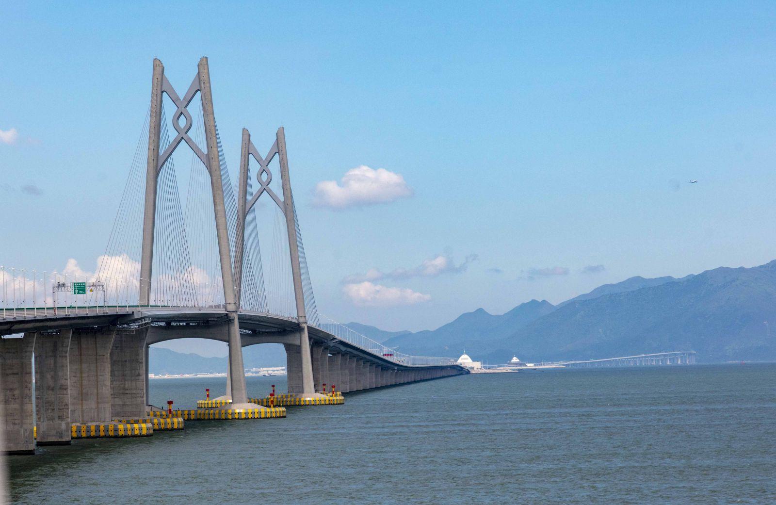 港珠澳大橋 通車不遠矣