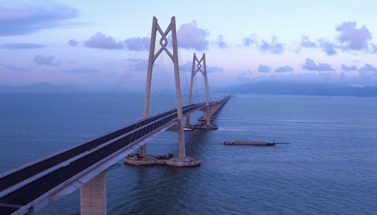 有片!港珠澳大橋開通儀式本月23日舉行