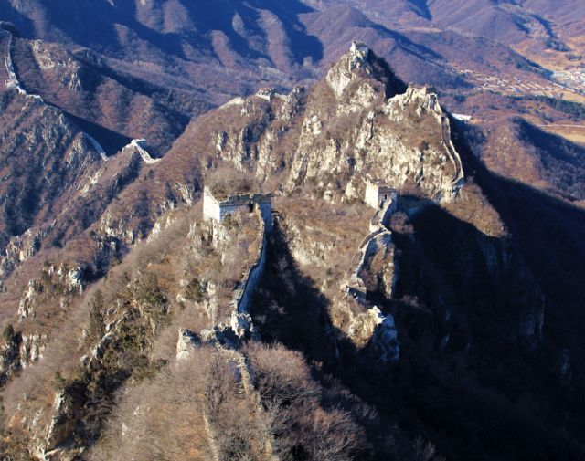 有片!北京女攀登「野長城」失足墮崖