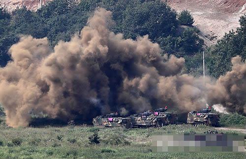 韓美海軍陸戰隊聯合演習明重啟
