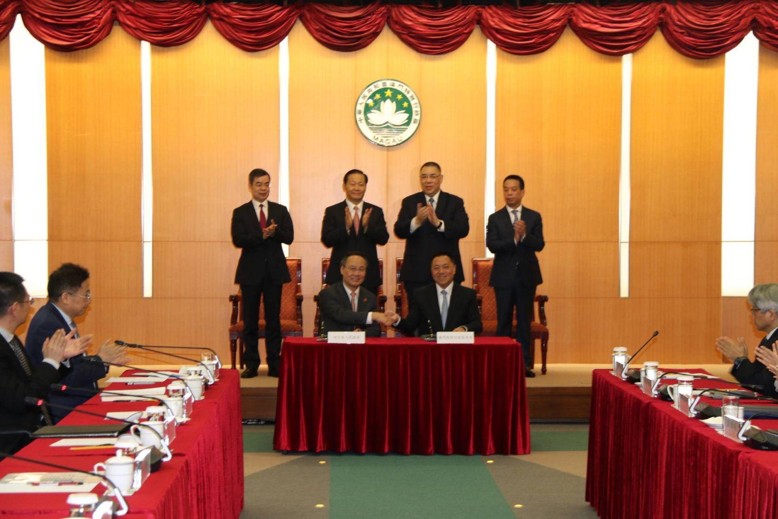 簽署兩項備忘錄利雙方合作