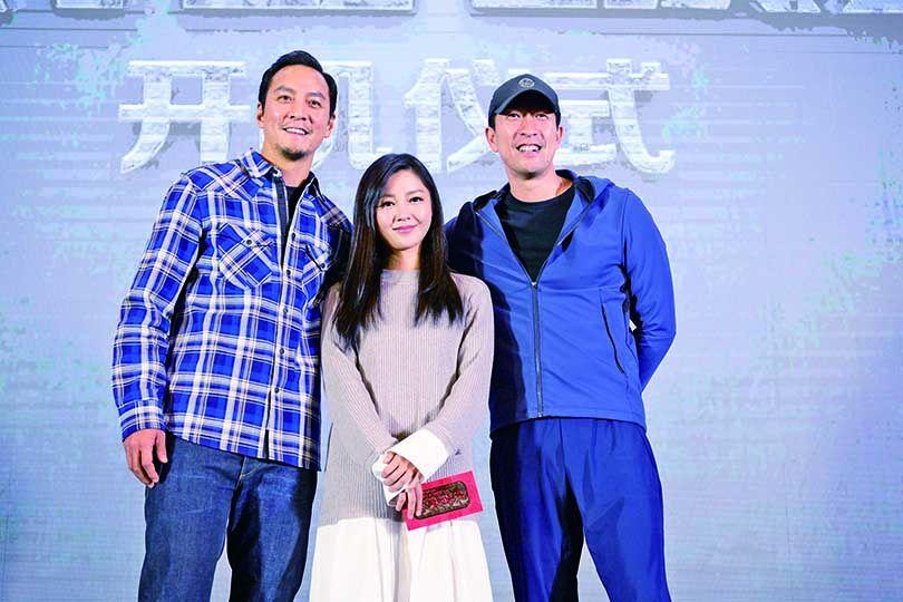 吳彥祖恨同霆鋒拍《新人類3》