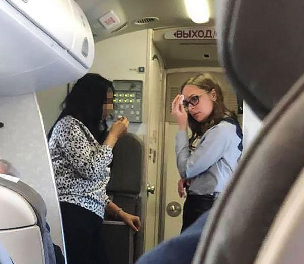俄客機冷氣故障有焦味照起飛