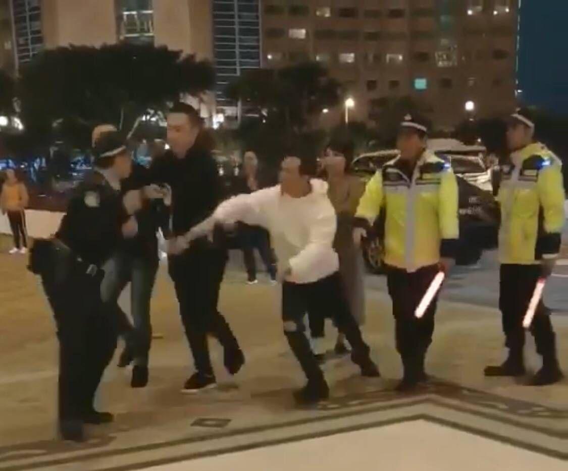 治安警:鳴槍因內地漢有意圖搶警槍