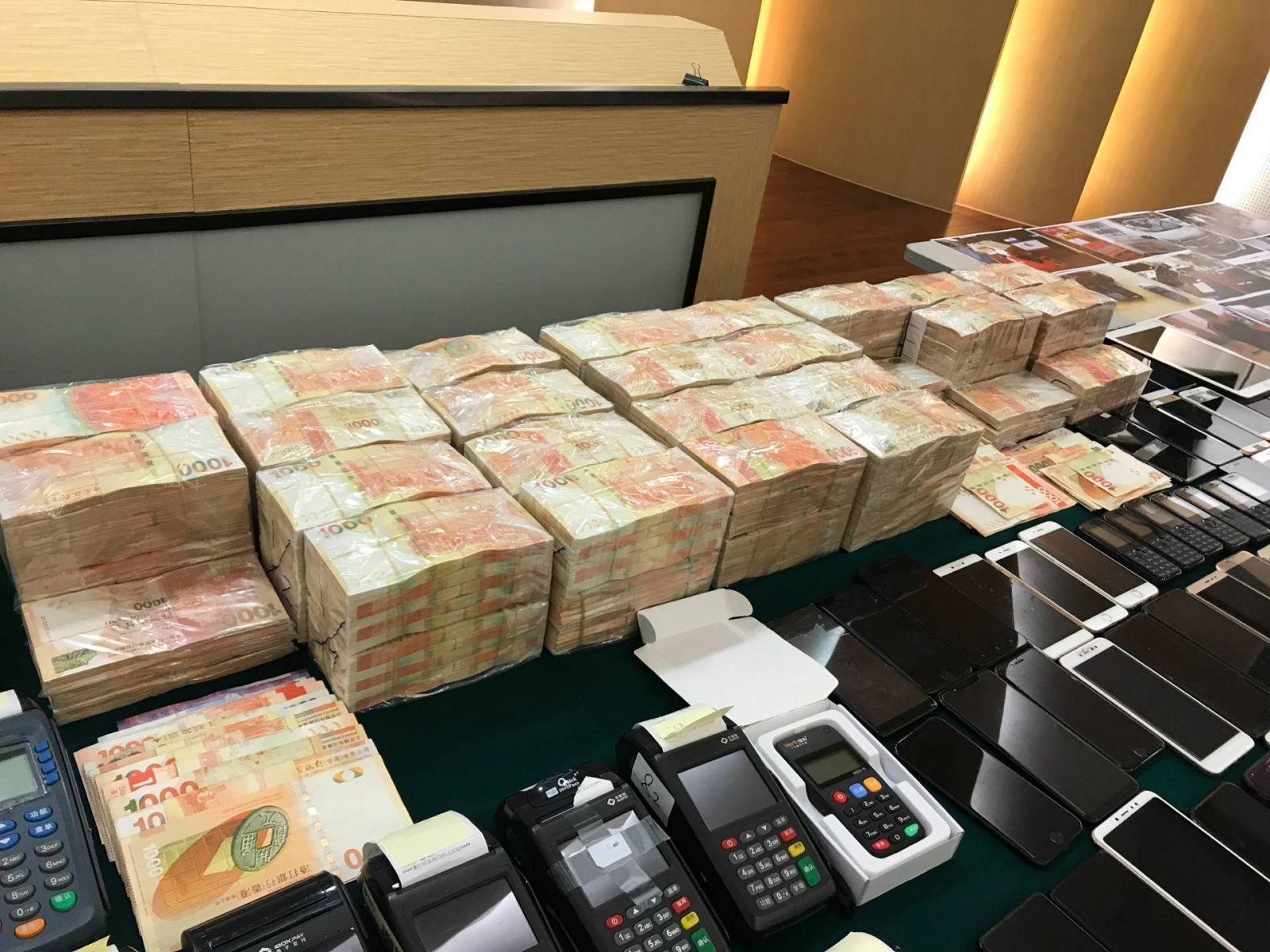 司警公安攜手破案凍結3,000萬黑錢