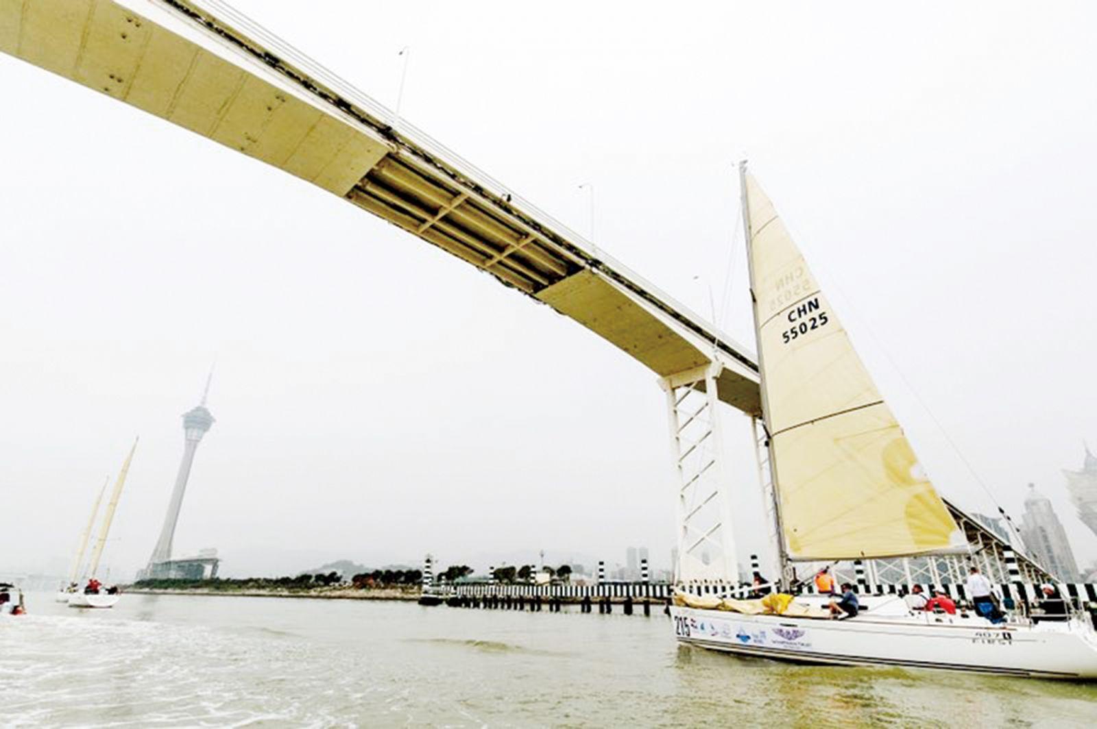 大灣區盃暨澳門盃帆船賽揭戰