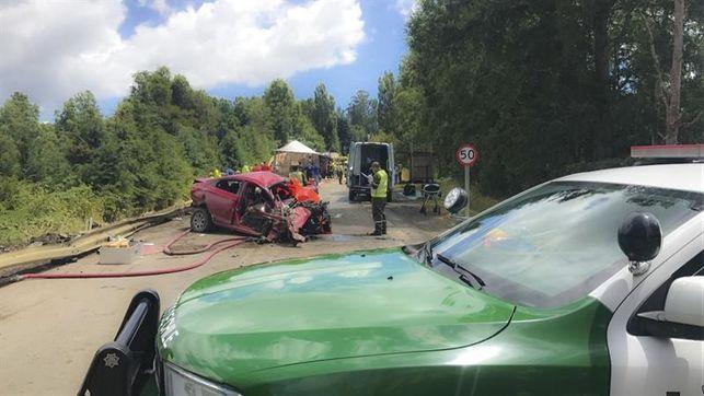 智利南部3車相撞 9死11傷