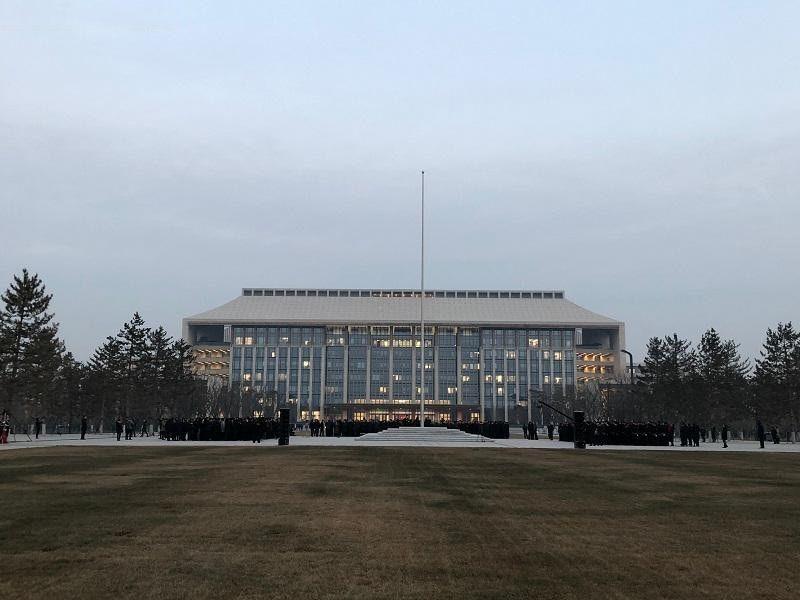 北京市級行政中心正式遷往通州