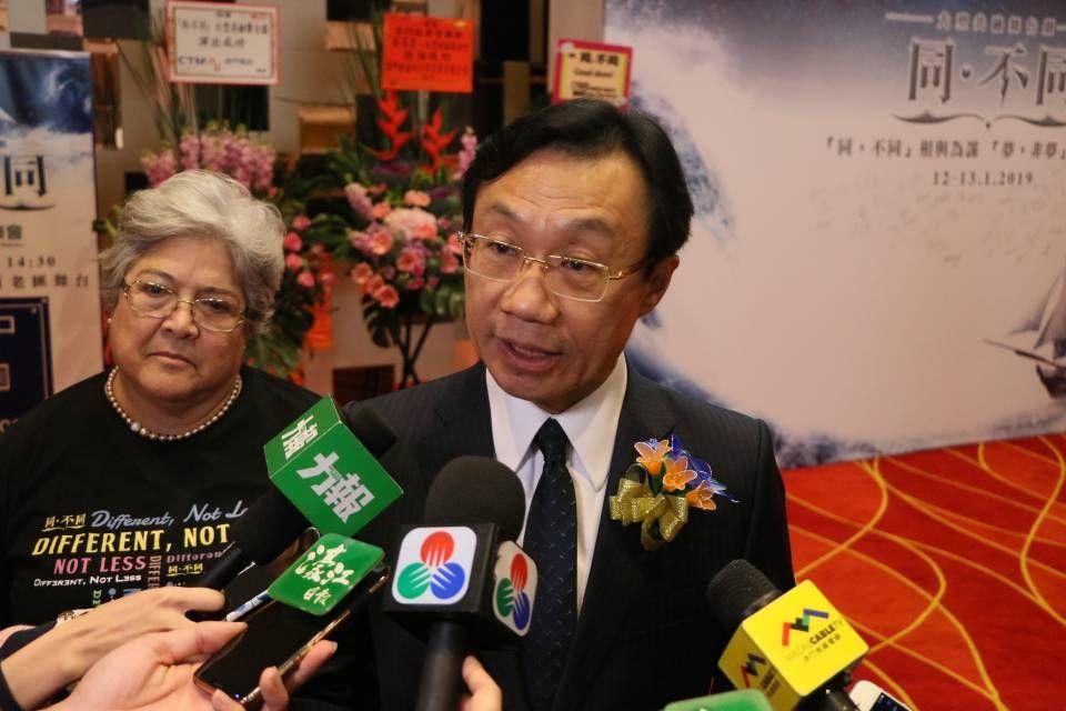 譚俊榮:若違反文遺法必須追究