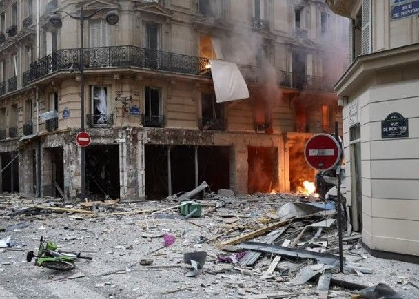巴黎麵包店發生爆炸 至少20人傷