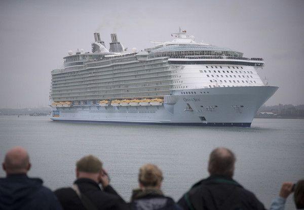 遊輪海洋綠洲號出航後驚傳「諾如病毒」