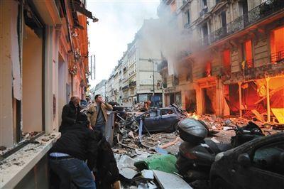 巴黎麵包店爆炸增至3死47傷