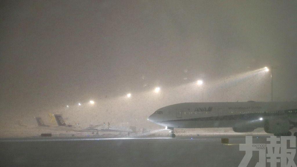 逾30航班取消 JR多條線普通車停駛