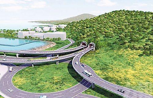 建造兩條高架行車天橋