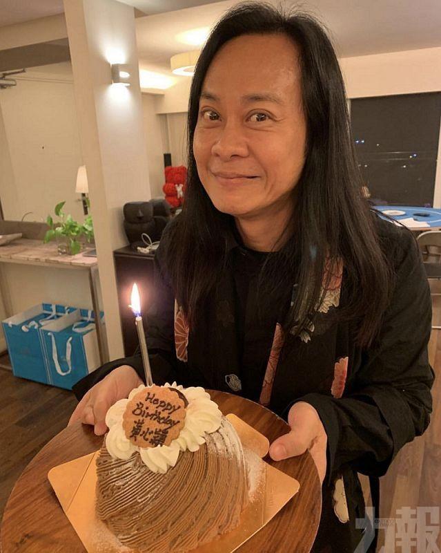 蔡一智生日收整蠱蛋糕