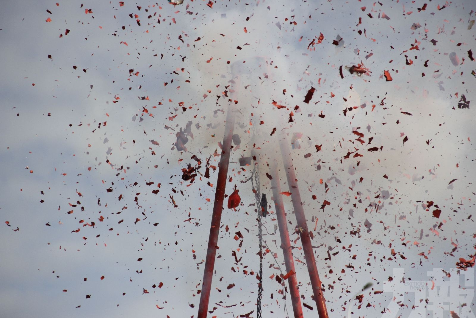 剩餘爆竹煙花及火箭今明兩天銷毀