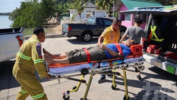 10名中國遊客受傷 1人重傷