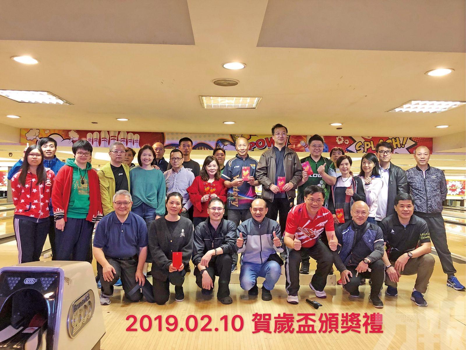 盧天浩捧走勝利保齡球會賀歲盃