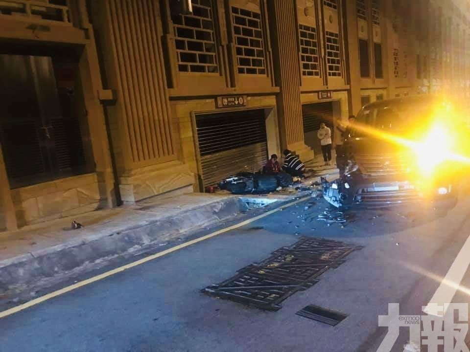 檢察院批示警方跟進調查私家車逆駛撞電單車事故