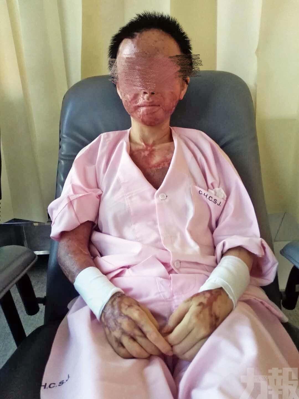 傷者:望復明可見回六歲兒子